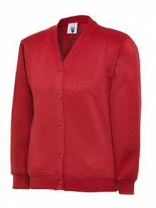 AJ949 - Red Cardigan