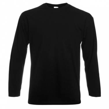 Fruit Of The Loom Valueweight Long Sleeve Tee - SS032
