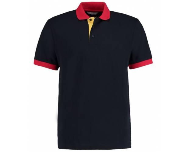 Kustom Kit Contrast Collar Polo - KK404