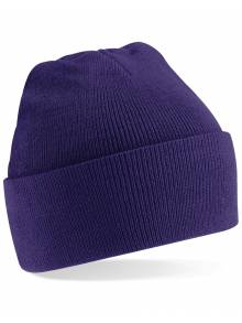 Purple Beanie Hat - B45