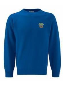 AJ020 - Dark Royal Crew Neck Sweatshirt - 3SR