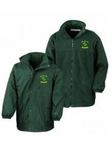 AJ992 - Bottle Green Reversible Jacket - R160JY