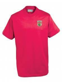 AJ919 - Champion Tee Shirt Red