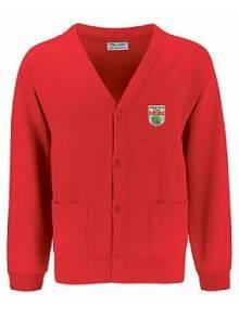 AJ919 - Red Cardigan