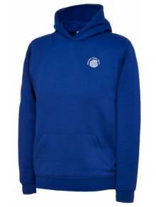 AJ007 - Royal Blue Hooded Sweatshirt