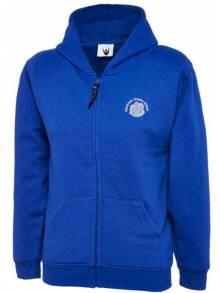 AJ007 - Royal Classic Full Zip Hooded Sweatshirt