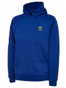 AJ020 - Royal Blue Hooded Sweatshirt