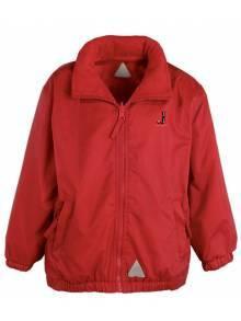 AJ2021 - Red Waterproof Fleece Jacket