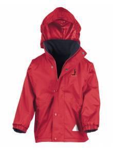 AJ2021 - Red Children's Reversible StormDri Fleece Jacket