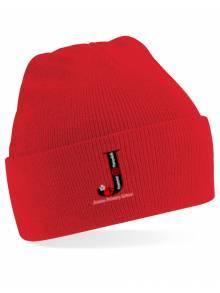 AJ2021 - Beechfield Junior Original Cuffed Red Beanie