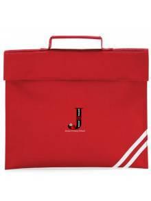AJ2021 - Red Classic Book Bag - QD456