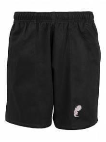AJ875 - Unisex Black Shorts