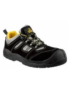 Amblers Safety Shoe Black/Yellow - FS111Q