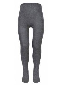 Grey Cotton Rich Tights - TIC