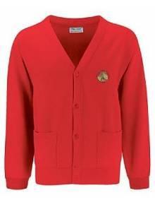 AJ123 - Red Cardigan