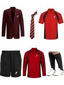 AJ875 - Boys Full Uniform Bundle