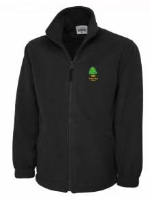 AJ517 - Staff Black Fleece Jacket - UX5