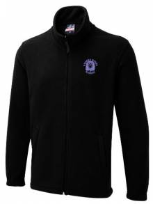 AJ018 - Staff Black Fleece Jacket - UX5