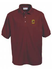 AJ104 - Burgundy Penthouse Polo Shirt