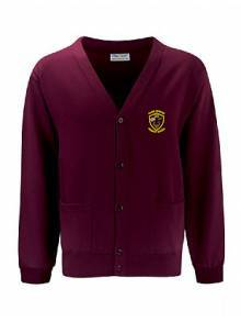AJ104 - Burgundy Select Cardigan