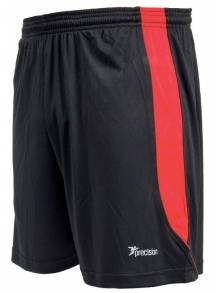 Precision Real Shorts- Black/Anfield Red