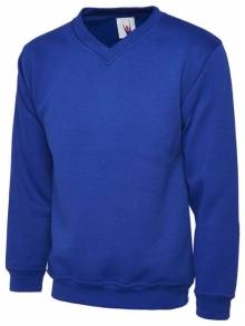 AJ576 - V Neck Sweatshirt