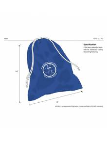 AJ276 - Royal Blue Pump Bag