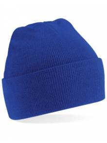 AJ276 - Royal Blue Wolly Ski Hat