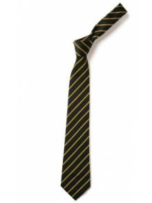 Navy & Gold Tie - Wrap Over 39""