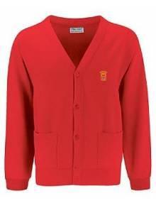 AJ889 - Red Cardigan