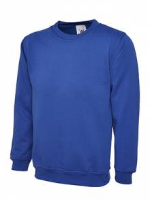 AJ576 - Royal Blue Crew Neck Shirt