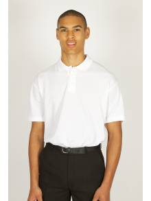 AJ889 - White Polo Shirt BRIDGTOWN