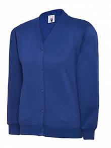 AJ576 - Royal Blue Cardigan