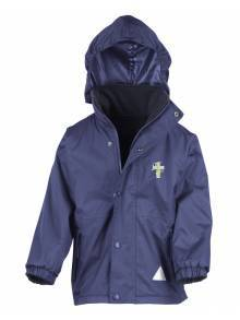 AJ576 - Royal Blue Reversible Storm Stuff Jacket