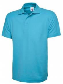 AJ018- Children Sky Blue Polo Shirt