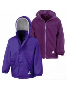 AJ954 - Children's Reversible Storm Stuff Jacket Fabric Outer