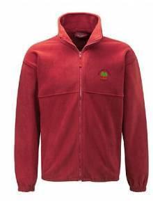 AJ550 - Red Polar Fleece