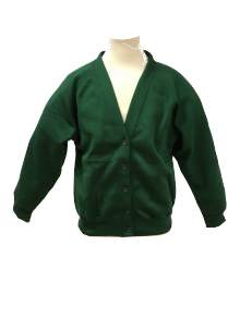 AJ517 - Forest Green Cardigan