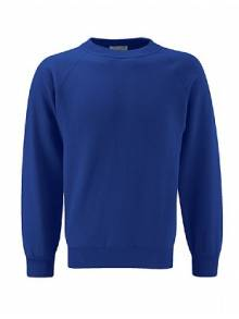 AJ015 - Dark Royal Crew Neck Sweatshirts